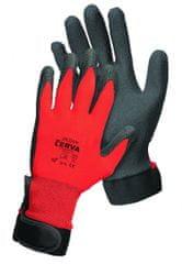 Červa JACDAW rukavice máčená v PVC