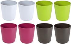 Previosa Geometric virágcserép 8 db színes készlet