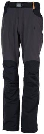 Northfinder moške hlače Seth Greyblack, XXL, sivo-črne