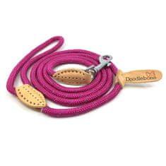 Doodlebone smycz dla psa Pink