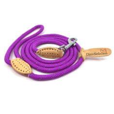 Doodlebone smycz dla psa Purple