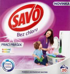 Savo Prací prášok na farebnú bielizeň 1,4 kg (20 praní)