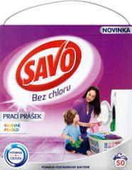 Savo Prací prášok na farebnú bielizeň 3,5 kg (50 praní)