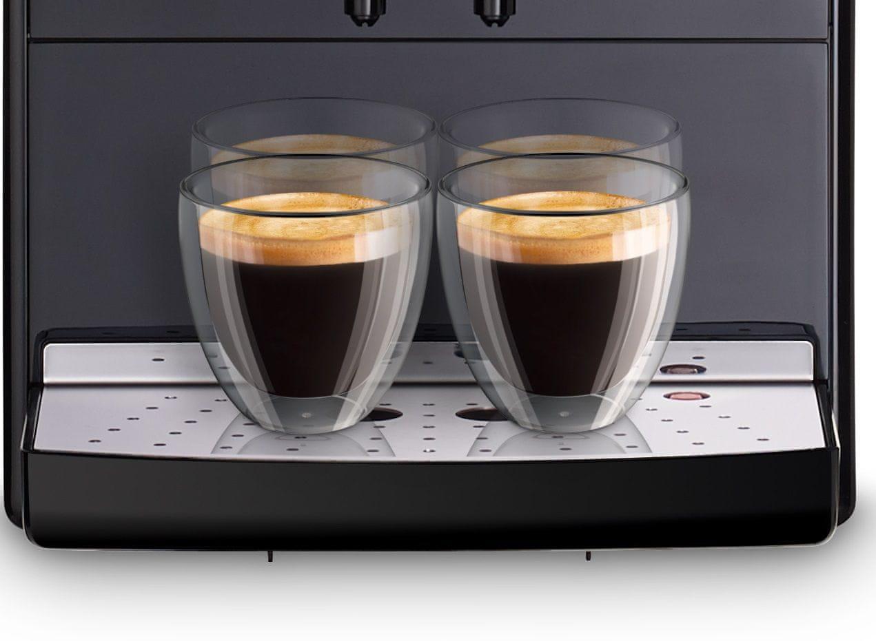 Automatický kávovar Melitta Solo Černá 2 šálky najednou výškově nastavitelná tryska kompaktní rozměry
