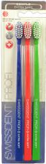 Swissdent Profi Gentle Soft 3 ks (dark blue, red, green)