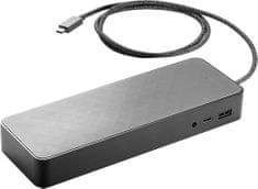 HP priklopna postaja USB-C v DisplayPort/USB 2.0/Ethernet/USB 3.0