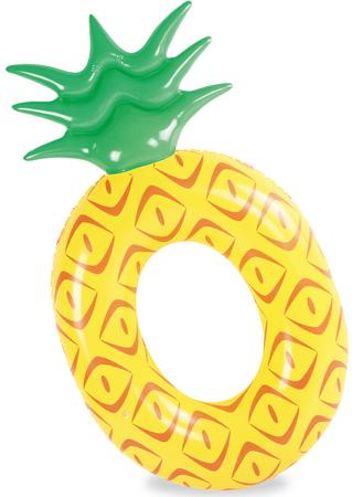 TM Toys Nagy ananászalakú úszógumi, 154x87x24 cm
