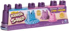 Kinetic Sand Balenie 3 téglikov pastelových farieb