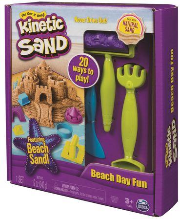 Kinetic Sand Kiegészítőkkel ellátott tengerpart szett
