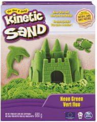 Kinetic Sand Neónové farby zelená 680 g