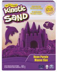 Kinetic Sand Neonové farby fialová 680 g