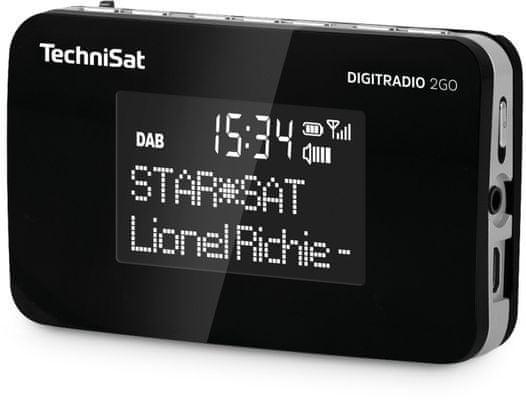 Technisat DIGITRADIO 2GO, černá/stříbrná