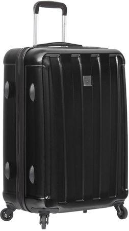 Sirocco potovalni kovček T-1162/3-L, črn