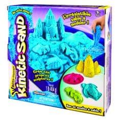 Kinetic Sand Box Sada náradie + 454g modrá