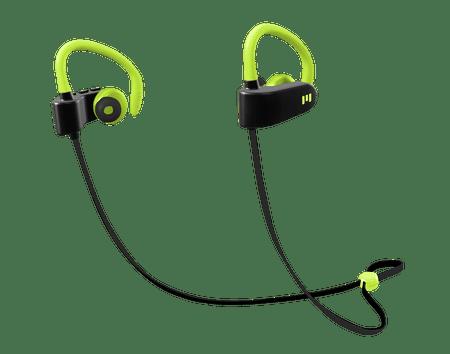 MIIEGO słuchawki bezprzewodowe M1, czarny/zielony