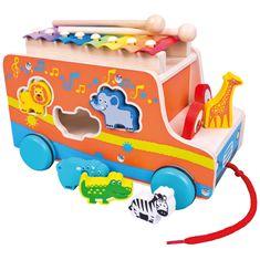 Bino Auto wielofunkcyjna zabawka edukacyjna