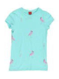 s.Oliver T-shirt dziewczęcy S turkusowy
