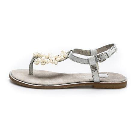 Tom Tailor ženski sandali, srebrni, 36