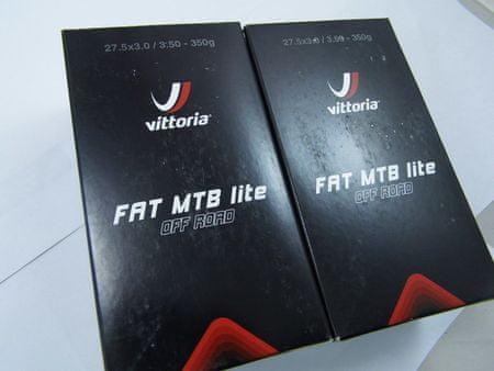 Vittoria zračnica MTB FAT Lite 27,5x3,0-3,50, FV Presta 48 mm