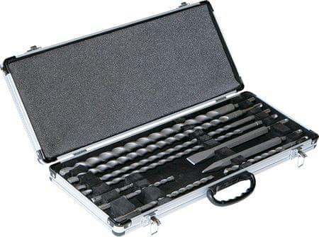 Makita 10-dijelni komplet svrdala i dlijeto SDS-Plus u kovčegu (D-42385)