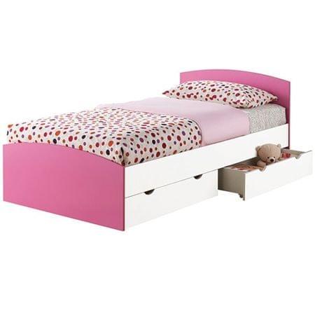 krevet Štrumpfeta 90x200, roza