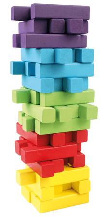 Bino Gra wieża, 60 elementów + kostka