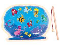 Bino Akvárium horgászbottal puzzle kirakó