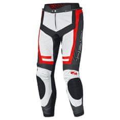 Held pánske šport moto nohavice ROCKET 3.0 čierna/biela/červená, koža