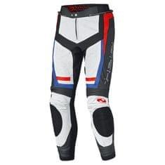 Held pánske šport moto nohavice ROCKET 3.0 čierna/biela/červená/modrá, koža