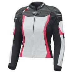Held dámská sportovní moto bunda  STREET 3.0 LADY černá/bílá/růžová, kůže