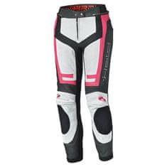 Held dámské sport moto kalhoty ROCKET 3.0 černá/bílá/růžová, kůže