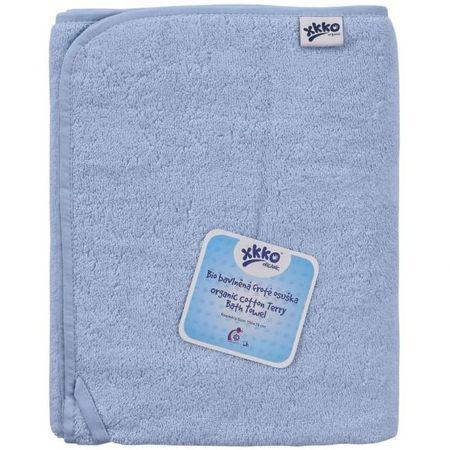 XKKO Froté osuška z BIO bavlny Organic 150x75, Baby Blue