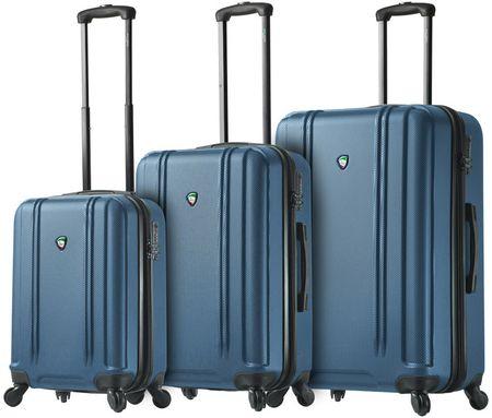 Mia Toro M1210 / 3 sor utazó bőrönd készlet, kék