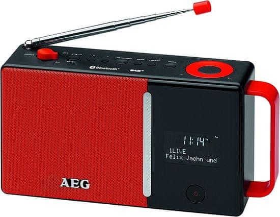 AEG DAB 4158, červená