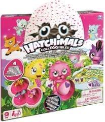Spin Master Gra przygodowa Hatchimals z 4 wyjątkowymi zwierzętami
