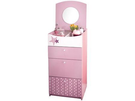Otroški predalnik Fairy, roza