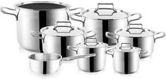 Orion zestaw garnków ze stali nierdzewnej ANETT - 12 elementów