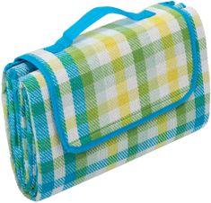 Biederlack deka za piknik Clear Green, 130x170 cm, zelena