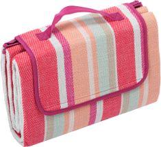 Biederlack deka za piknik Sunshine Red 130x170 cm, rdeča