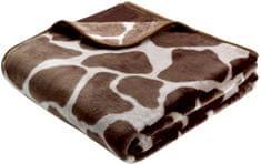 Biederlack Simply Luxury Giraffe, 150x200 cm