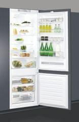 Whirlpool SP40 800 EU Beépíthető kombinált hűtőszekrény, A+