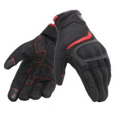Dainese letní moto rukavice AIR MASTER černá/červená