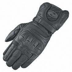 Held sport moto rukavice REVEL 2 černá, kozí kůže