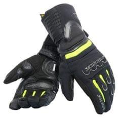 Dainese moto rukavice SCOUT 2 GORE-TEX černá/fluo žlutá