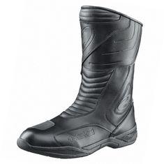 Held moto topánky Corbie čierna, PU-koža/Hipora