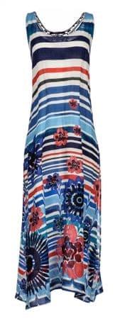 Desigual női kék ruha Flora S-es méretben