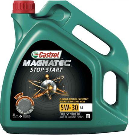 Castrol motorno olje Magnatec Stop-Start 5W-30 A5, 4L