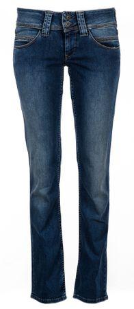 Pepe Jeans dámské jeansy Venus 32/32 modrá