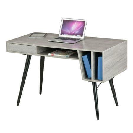 Računalniška miza Sivka, siva