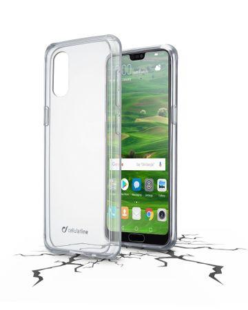 CellularLine ovitek Clearduo za telefon Huawei P20 Lite, prozoren